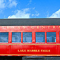 Historic Red Passenger Car, Austin & by Panoramic Images