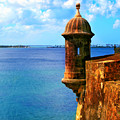 Historic San Juan Fort by Perry Webster
