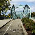 Historic South Washington St. Bridge Binghamton Ny by Christina Rollo