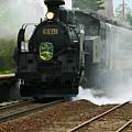 Historic Steam Train by Larry Dale Gordon - Printscapes