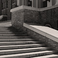 Historic Steps Little Rock Central High School by Brian M Lumley