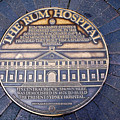 Historic Sydney Hospital - Plaque On Sidewalk by Kaye Menner