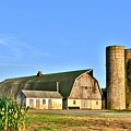 Historic Townsend Barn - Lewes Delaware by Kim Bemis