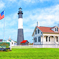 Historic Tybee Island Light Station by Mark E Tisdale