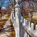 Historic Vermont Fence by Elizabeth Dow