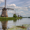 Historic Windmills In Holland by Clare Bambers