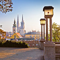 Historic Zagreb Towers Sunrise View by Brch Photography