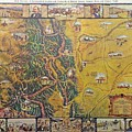 Historical Map Of Early Colorado by Pd