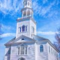 Historical Old First Church by Elizabeth Dow