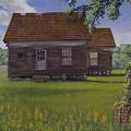 Historical Warrenton Farm House by Peter Muzyka