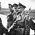 Hitler Shaking Hands With Heinrich Himmler Unknown Date Or Location by David Lee Guss
