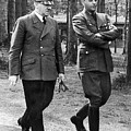 Hitler Strolling With Albert Speer Unknown Date Or Location by David Lee Guss
