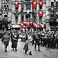 Hitler With Goering And Himmler Marching In Munich Germany C.1934-2016  by David Lee Guss