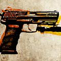Hk 45 Pistol by Michael Tompsett