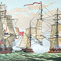 Hms Shannon Vs The American Chesapeake by American School