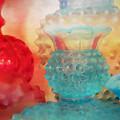Hobnail Glassware by Bonnie Bruno