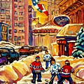 Hockey Fever Hits Montreal Bigtime by Carole Spandau