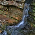 Hocking Hills State Park Small Waterfall by Dan Sproul
