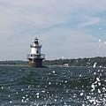 Hog Island Shoal Lighthouse by Diane Berard