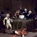 Hogarth: Midnight, 1731 by Granger