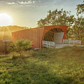 Hogback Covered Bridge 2 by Susan Rissi Tregoning