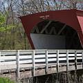 Hogback Covered Bridge 2 by Teresa Wilson