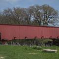 Hogback Covered Bridge - Madison County - Iowa by Teresa Wilson