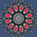 Valkyrie Kaleidoscope 2 by Wendy Wilton