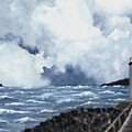 Hogsteinen Lighthouse by Michael Vigliotti