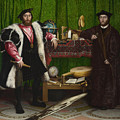 Holbein, Ambassadors, 1533 by Granger