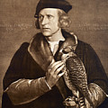 Holbein: Falconer, 1533 by Granger