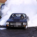 Holden Doing Burnout by Stephen Athea
