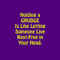 Holding A Grudge Is Like 5438.02 by M K  Miller