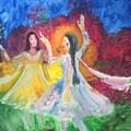 Holi-festival Of Colors by Brindha Naveen
