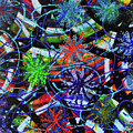 Holiday Abstract  by Davids Digits