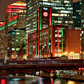 Holiday Colors Along Chicago River by Izet Kapetanovic