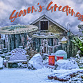 Holiday Greetings From Nye Beach by Bill Posner