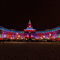 Holiday Lights Of The Denver City And County Building by Tony Hake