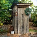 Holiday Outhouse by Marty Koch