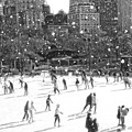 Holiday Skaters by Russ Considine