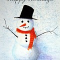 Holiday Snowman by Marna Edwards Flavell