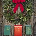 Holiday Wreath by David Stone