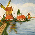Holland by Gloria M Apfel