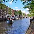 Hollanders On Canal - Color by Noah Cole