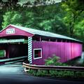 Hollingshead Coverd Bridge by Marvin Spates