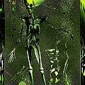 Holloween Alien Skeleton by Robert G Kernodle