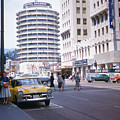 Hollywood And Vine California 1956 by Hollywood Prints