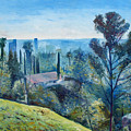 Hollywood Hills California Usa 1997  by Enver Larney