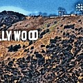 Hollywood Sign by Robert Butler