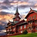 Holmenkollen Hotell by Torbjorn Schei